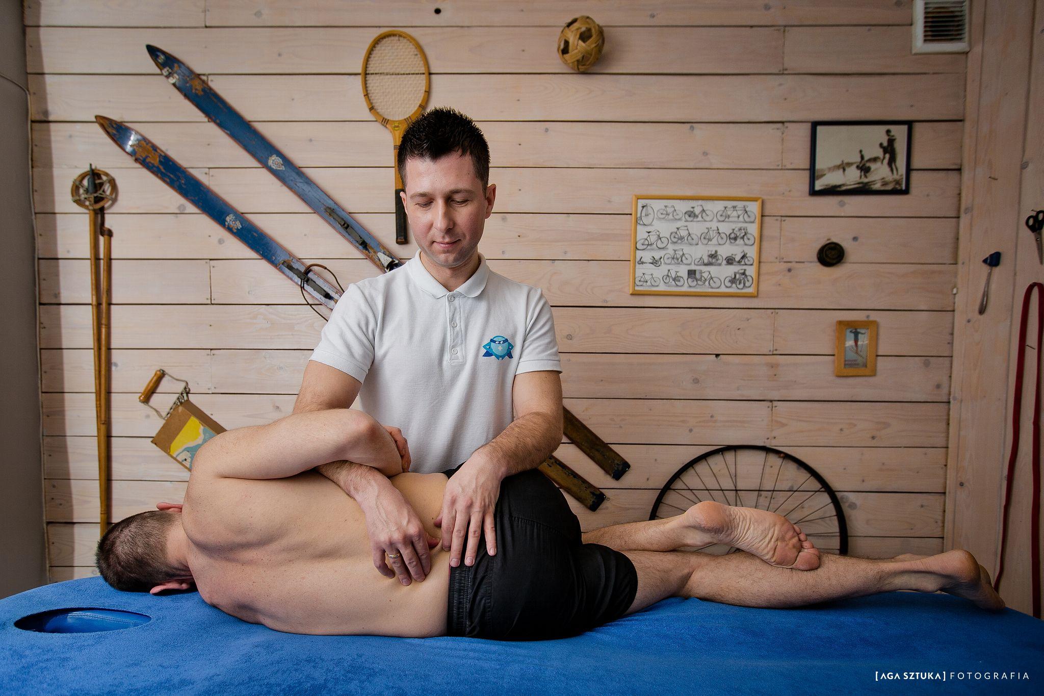 Dr Dawid Pawlak - masaż - ergonomia w pracy