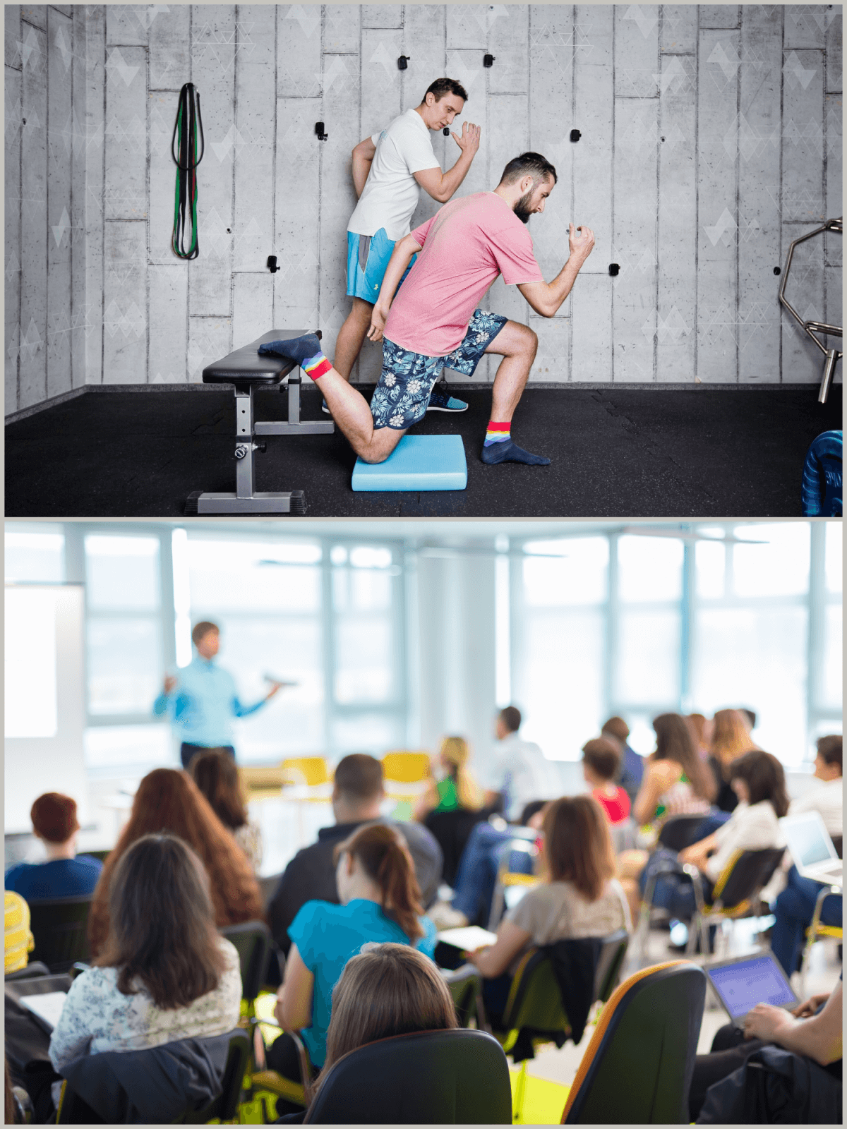BlueBall Academy - szkolenia z ergonomii w pracy, Krzysztof Olech - nauka prawidłowego wzorca ruchu