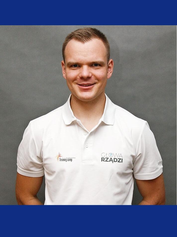 Grzegorz Więcław - psycholog sportu, warsztaty z ergonomii w pracy