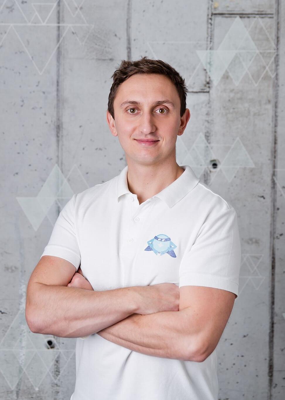 Krzysztof Olech - fizjoterapeuta i trener BlueBall Academy